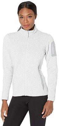 Arc'teryx Covert Cardigan (Athena Grey Heather) Women's Sweater