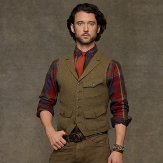 Polo Ralph Lauren Hillsdale Tweed Vest