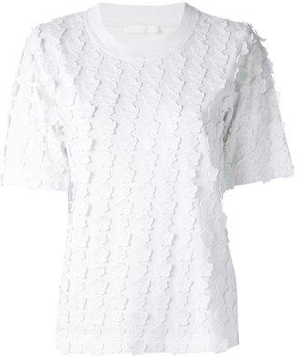 Chloé appliqué floral T-shirt