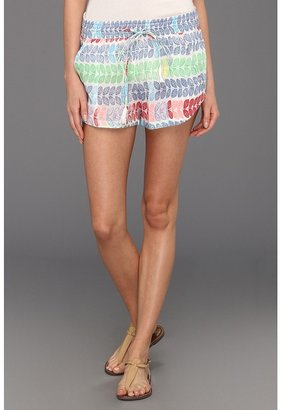 Mara Hoffman Leis Cotton Voile Atheletic Short (Voile Leis) - Apparel