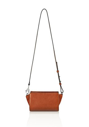 Alexander Wang Pelican Sling In Shiny Amaretto With Rhodium