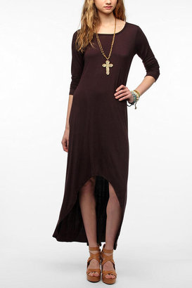 Urban Outfitters Out From Under Long-Sleeve High/Low Maxi Dress