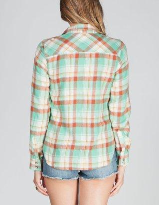 MMXIII Womens Basic Plaid Flannel Shirt