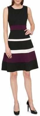 Tommy Hilfiger Replen Colourblock Swing Dress