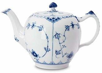 """Royal Copenhagen Blue Fluted Half Lace"""" Teapot"""