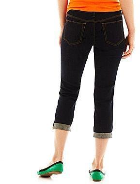 JCPenney jcpTM Skinny Ankle-Length Jeans - Petite