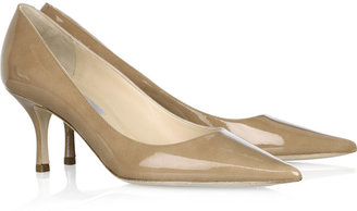 Jimmy Choo Lizzy patent-leather pumps
