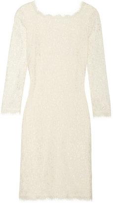 Diane von Furstenberg Zarita lace mini dress