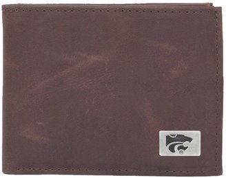 Kansas State Wildcats Leather Bifold Wallet