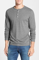 Patagonia Daily Long Sleeve Organic Cotton Henley