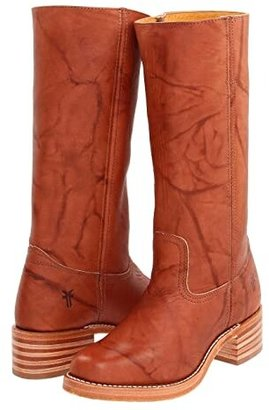 Frye Campus 14L (Saddle Leather) Cowboy Boots