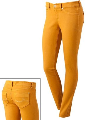 UNIONBAY stretch color skinny jeans - juniors