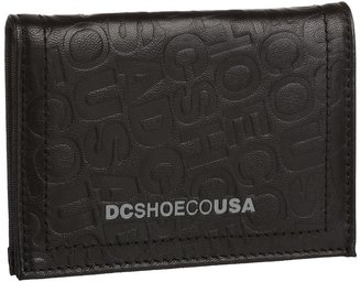 DC Brunty Wallet (Black) - Bags and Luggage