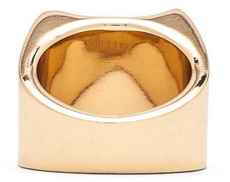 Maison Martin Margiela Brass Ring in Gold