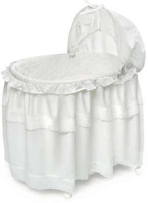Badger Basket Long Skirt Portable Bassinet