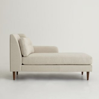 west elm Crosby Right Arm Chaise