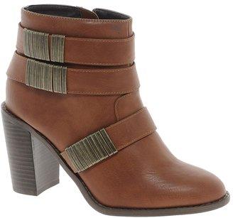 London Rebel Square Rings Boot