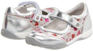 Naturino Nat 4514 SP12 (Toddler/Youth) (Silver Print) - Footwear