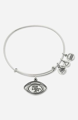 Alex and Ani 'San Francisco 49ers' Expandable Wire Bangle