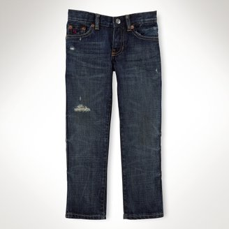 Slim Axton-Wash Vintage Jean