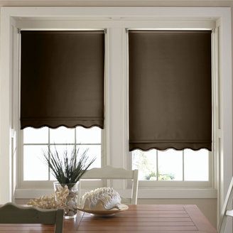 JCP HOME JCPenney HomeTM Savannah Cut-to-Width Fringed Thermal Roller Shade - FREE SWATCH