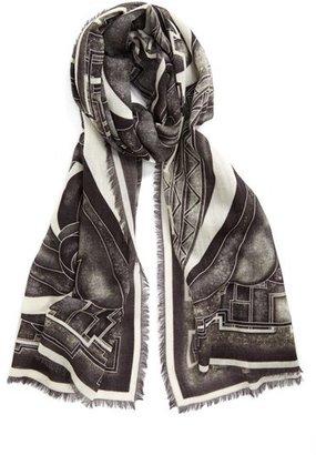 Emilio Pucci 'Stella' Wool Shawl