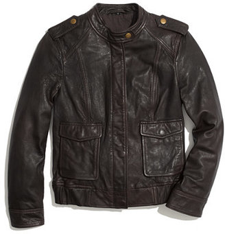 Madewell Modern Leather Bomber