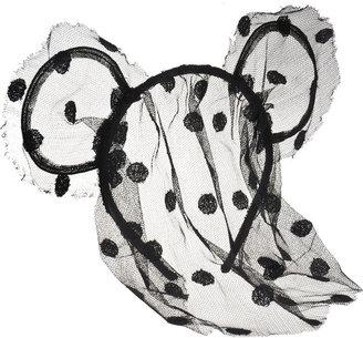 Maison Michel 'Heidi' Headband with Mouse Ears