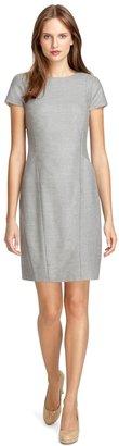 Brooks Brothers Wool Cap Sleeve Dress