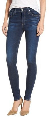 Women's Ag 'The Farrah' High Rise Skinny Jeans $188 thestylecure.com