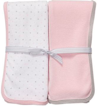 Carter's Baby Set, Baby Girls Solid and Dot Swaddle Blanket Set