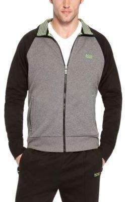 HUGO BOSS 'Skoz' - Cotton Blend Zip-Up Sweatshirt