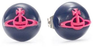 Vivienne Westwood Mini Resin Dot Stud Earrings