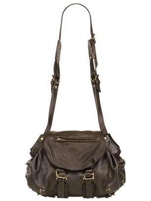 Jerome Dreyfuss Twee Textured Leather Shoulder Bag
