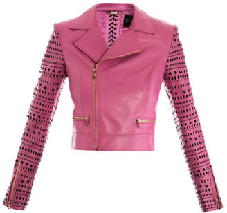 Versace Memphis leather biker jacket