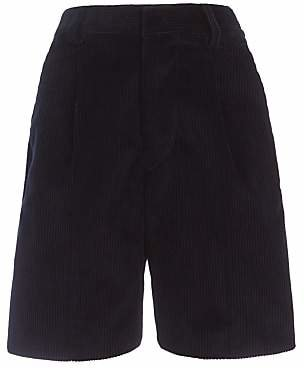 Unbranded Boys' School Cord Bermuda Shorts, Navy