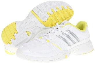 adidas adipower barricade Team 2.0 (Running White/Metallic Silver/Running White) - Footwear