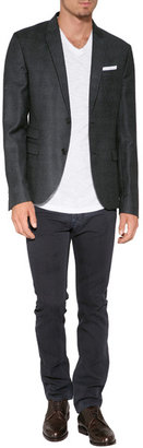 Neil Barrett Virgin Wool Slim Fit Blazer