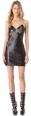 Versace Leather Dress