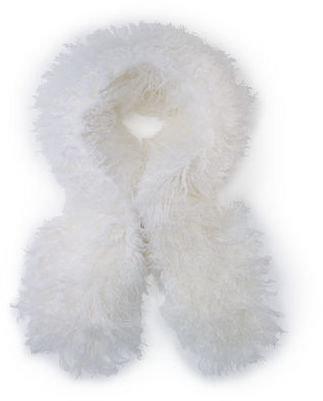 Ralph Lauren Mongolian Lamb Shearling Scarf