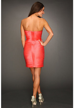 BCBGMAXAZRIA Lillie Strapless Cocktail Dress