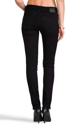 G Star G-Star New Radar H.W. Skinny in Comfort Black Veli Denim