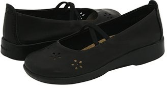 ARCOPEDICO Flower (Black Leather) Women's Maryjane Shoes