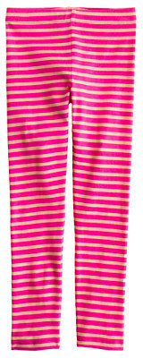 J.Crew Girls' everyday leggings in stripe