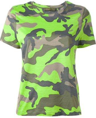 Valentino camouflage t-shirt