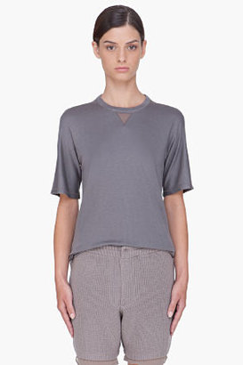 3.1 Phillip Lim Grey Modal T-Shirt