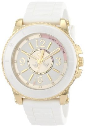 Juicy Couture Women's 1900787 Pedigree White Ceramic Bezel Watch $156 thestylecure.com