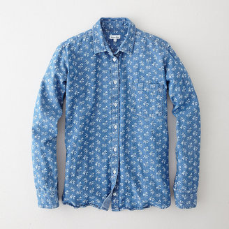 Steven Alan denim boyfriend shirt