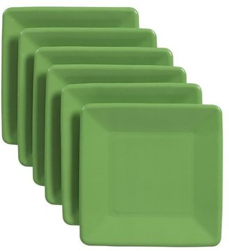 Crate & Barrel Set of 18 Green Paper Plates