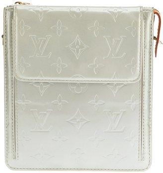 Louis Vuitton Vintage monogram silver vernis bag